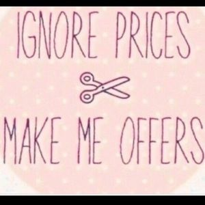 Taking all Reasonable offers ! I love making Deals
